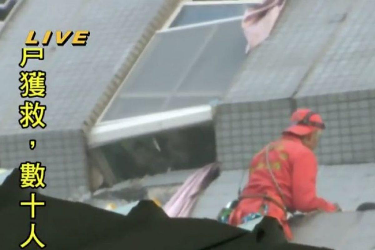 Captura de pantalla de la transmisión de la TV de Taiwán.. Imagen Por: