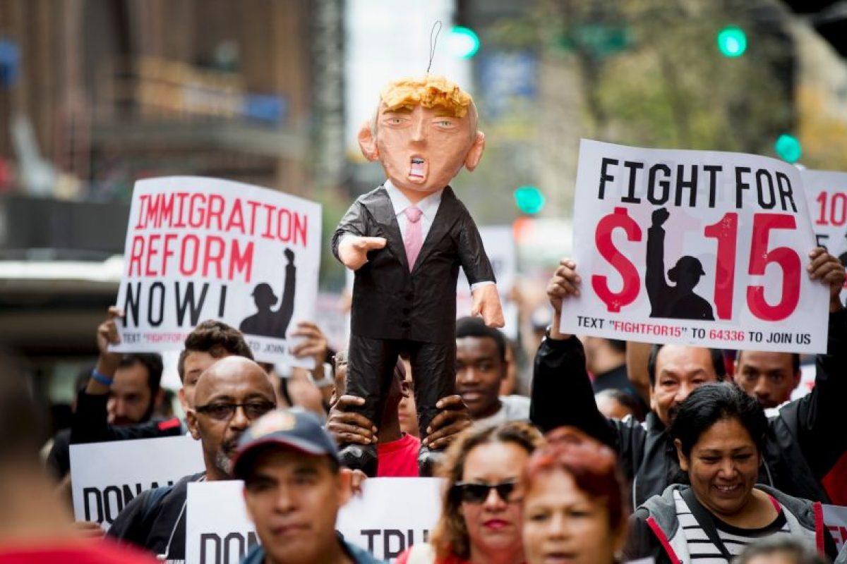 Durante su campaña política a causado distintas polémicas. Foto:Getty Images. Imagen Por: