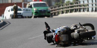 Conductor de camioneta que huía de Carabineros atropelló y dio muerte a motociclista