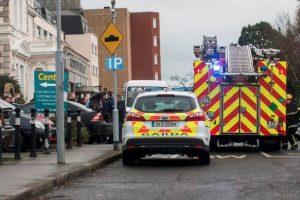 Los servicios de emergencia que respondieron al tiroteo descubrieron a tres hombres heridos. Foto:Vía Twitter. Imagen Por: