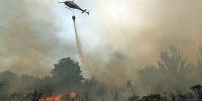Autoridades mantienen alerta roja en Puerto Montt debido a incendios forestales