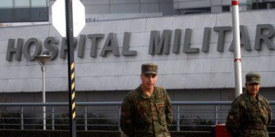 Luego de cuatro días internado Álvaro Corbalán dejó el Hospital Militar