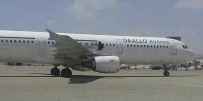 Confirman que explosión en avión somalí se debió a una bomba