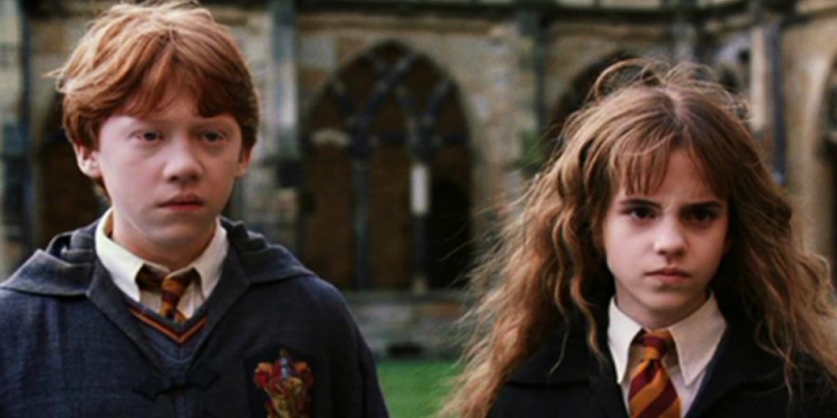 Ron Weasley y Hermione Granger están divorciados luego de