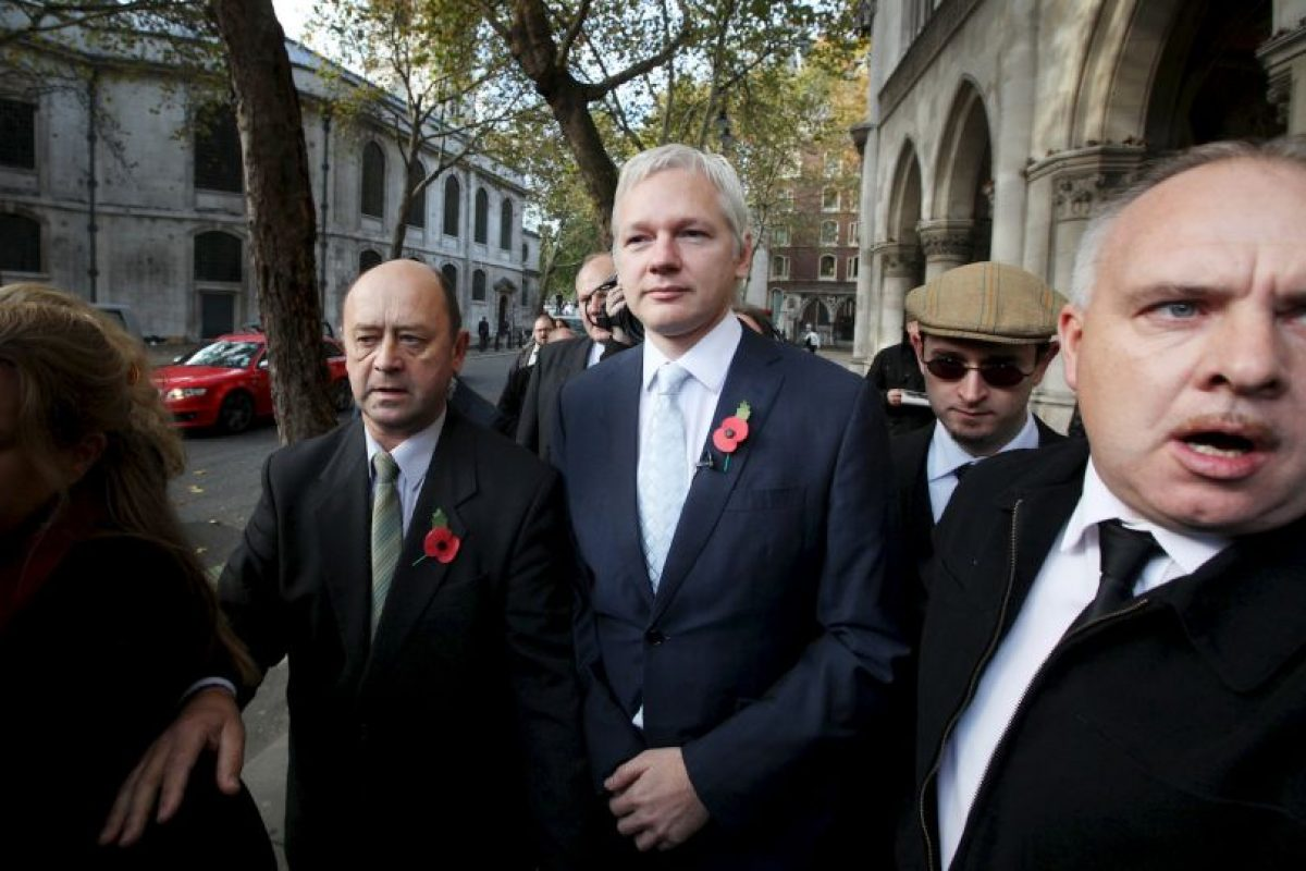 Desde 2012, el fundador de Wikileaks permanece en las instalaciones de la embajada de Ecuador en Londres. Foto:Getty Images. Imagen Por: