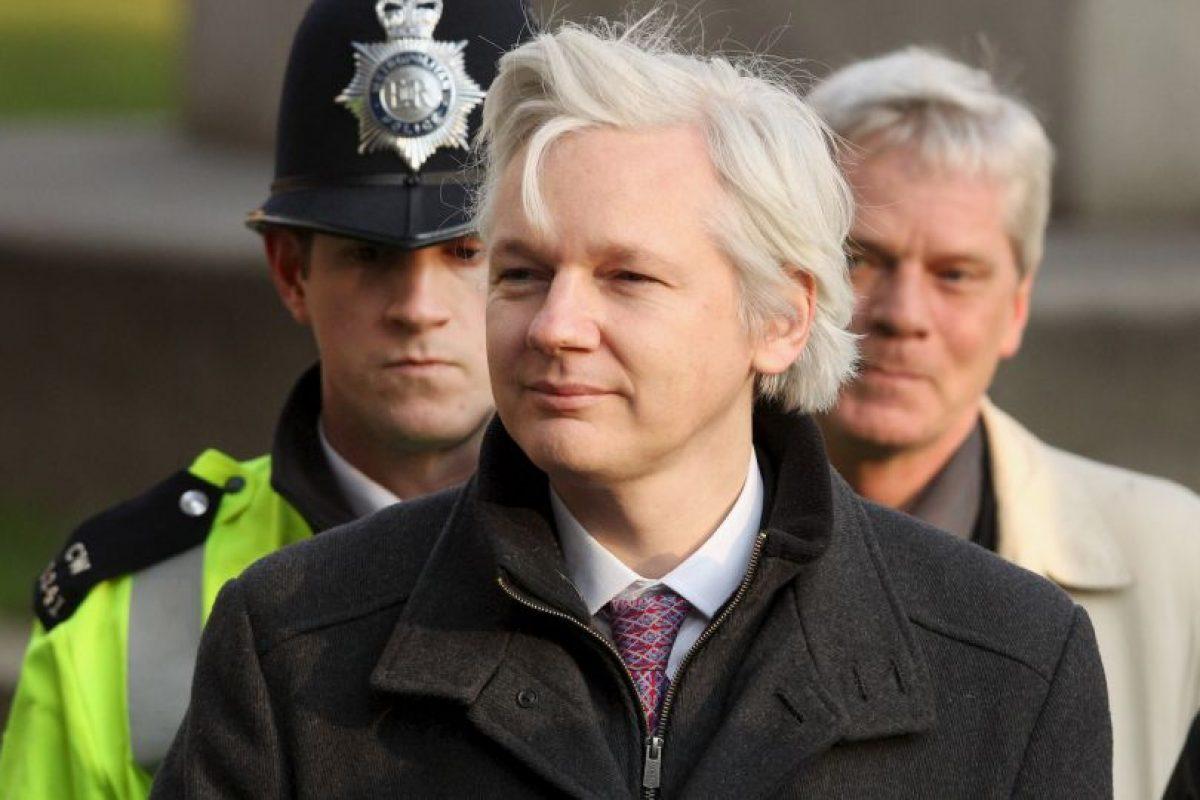 Julian Assange Foto:Getty Images. Imagen Por: