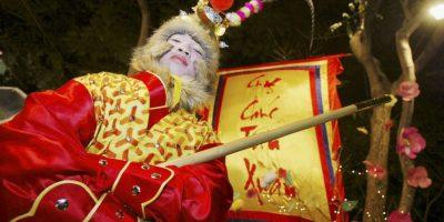 En China se preparan para celebrar el año del mono