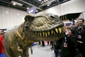 Tyrannosaurus rex Foto:Getty Images. Imagen Por: