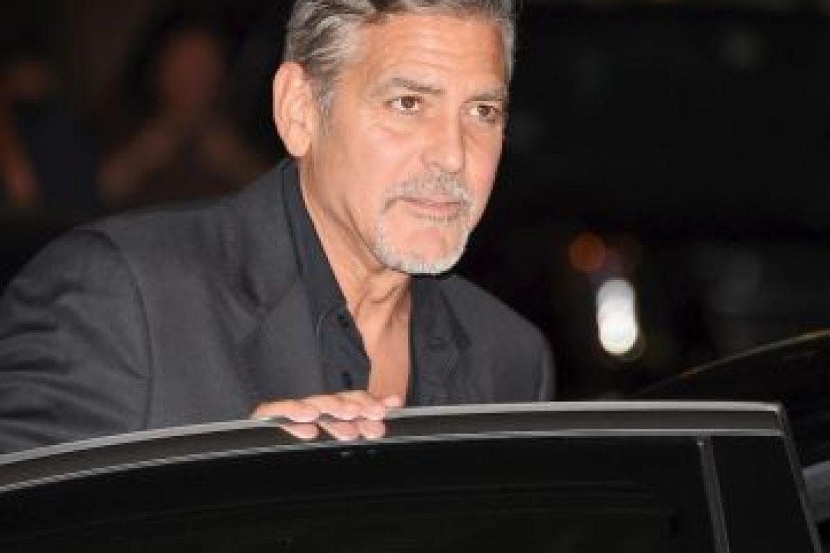 """Clooney visitó The Ellen Show para promocionar su más reciente película, titulada """"¡Hail, Caesar!"""" Foto:Getty Images. Imagen Por:"""