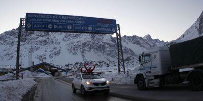 Seis mil vehículos ingresaron a Chile este fin de semana por el Paso Los Libertadores