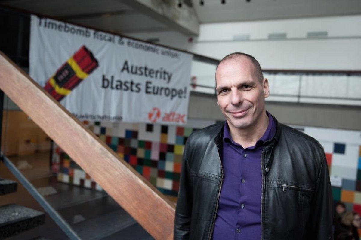 Yanis Varufakis Foto:AFP. Imagen Por: