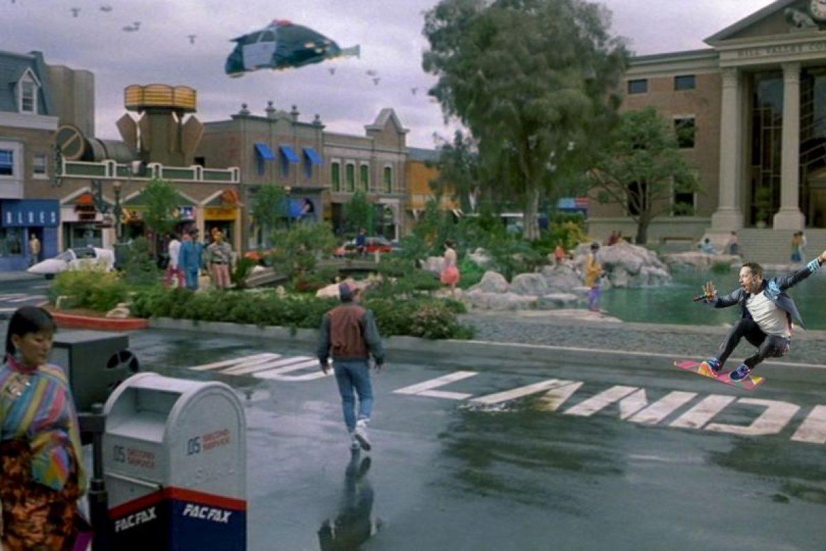 Así se vería en la película Volver al Futuro II Foto:Imgur / Reddit. Imagen Por: