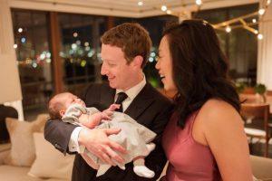 Primer evento formal en familia. Foto:Vía facebook.com/zuck. Imagen Por: