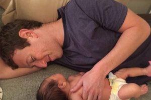 La imagen más adorable de padre e hija. Foto:Vía facebook.com/zuck. Imagen Por:
