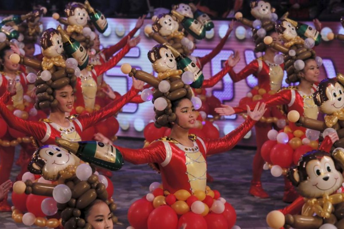 La festividad del Año Nuevo se conoce también como Fiesta de la Primavera. Foto:AP. Imagen Por:
