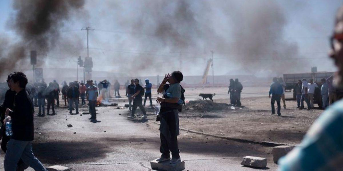 Antofagasta: trabajadores bloquean acceso a Minera Mantos Blancos