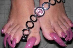 """Estas solo pueden ser """"lucidas"""" con plataformas. Foto:vía NowayGirl. Imagen Por:"""
