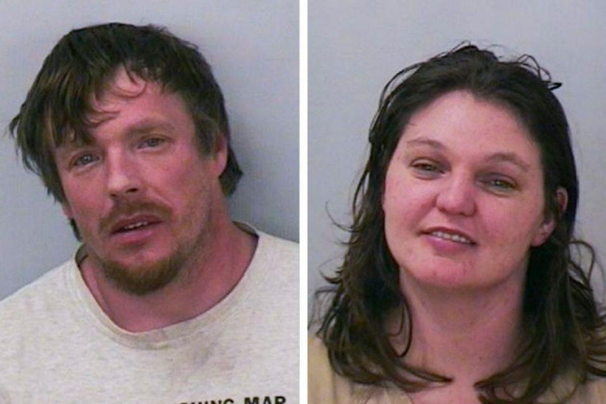 Ambos fueron detenidos. En el vehículo viajaba también un menor de 11 meses. Foto:Polk County Circuit Court