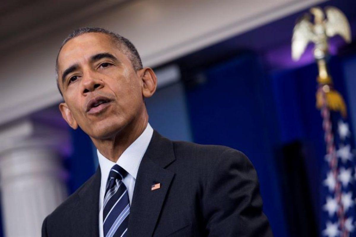 Barack Obama, presidente de EEUU Foto:Efe