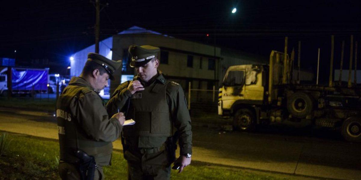 Ataque incendiario en Lanco deja más de 200 millones de pesos en pérdidas