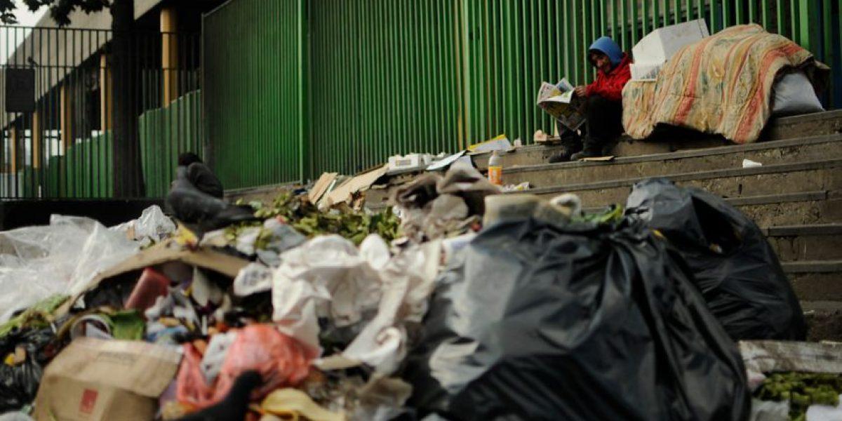 Santiago emite 12 mil toneladas de basura al día: alertan consecuencias por eventual paro