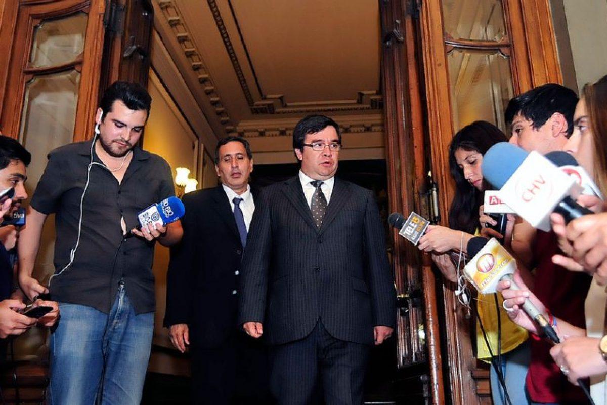 David Morales, intendente subrogante de Santiago Foto:Agencia UNO