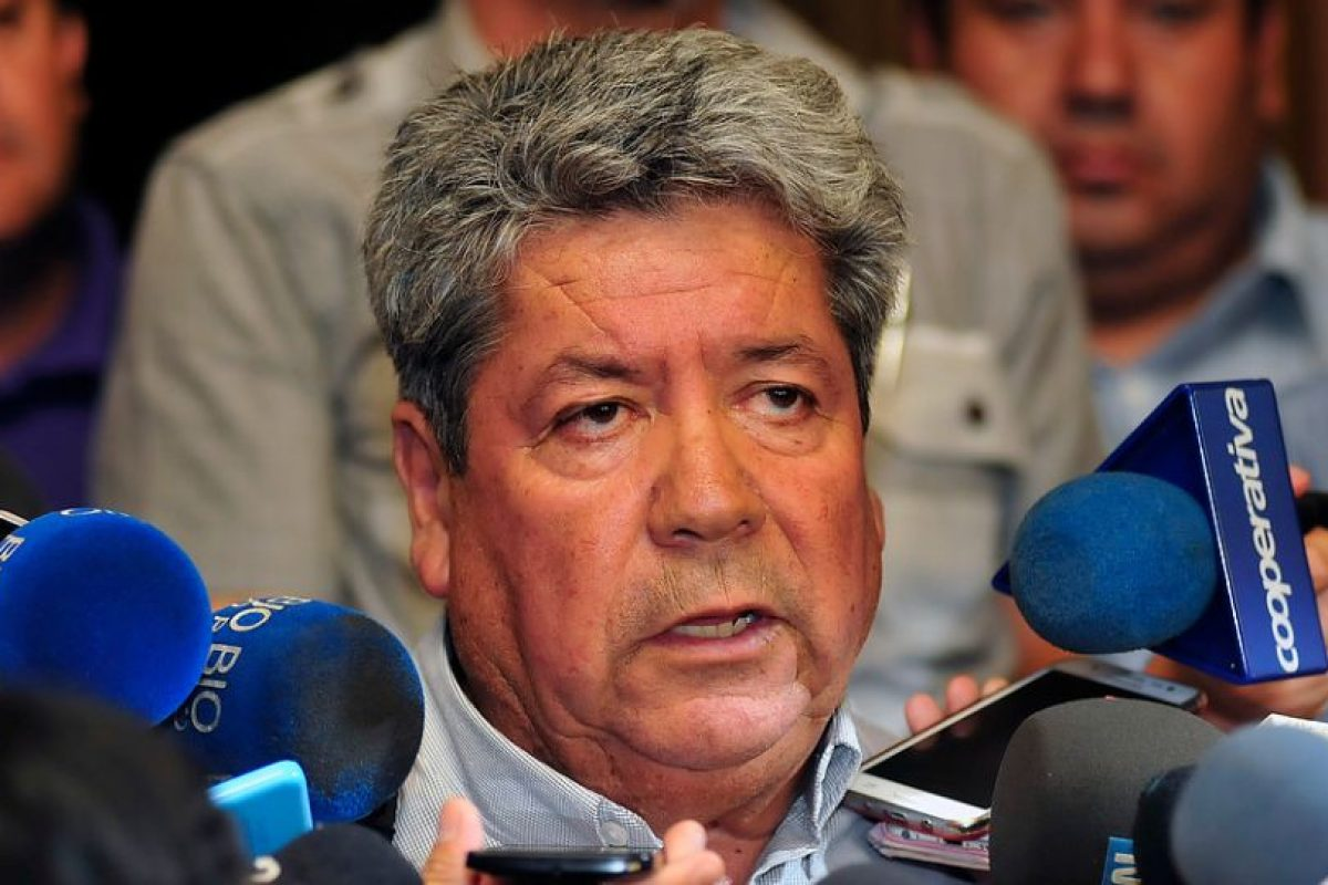 Armando Soto, vocero de los trabajadores Foto:Agencia UNO