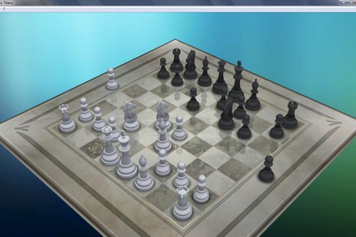 Se trataba de un juego de ajedrez para dos jugadores (ustedes contra un amigo o contra la máquina) cuyo objetivo es capturar al rey adversario. Tenía diversos niveles de dificultad y era prácticamente imposible vencer a la PC. Foto:Vía Tumblr.com
