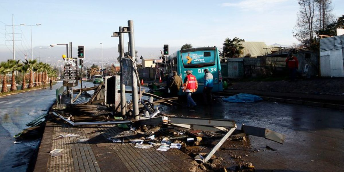 Maipú: formalizan a conductor del Transantiago que mató a un niño de 4 años