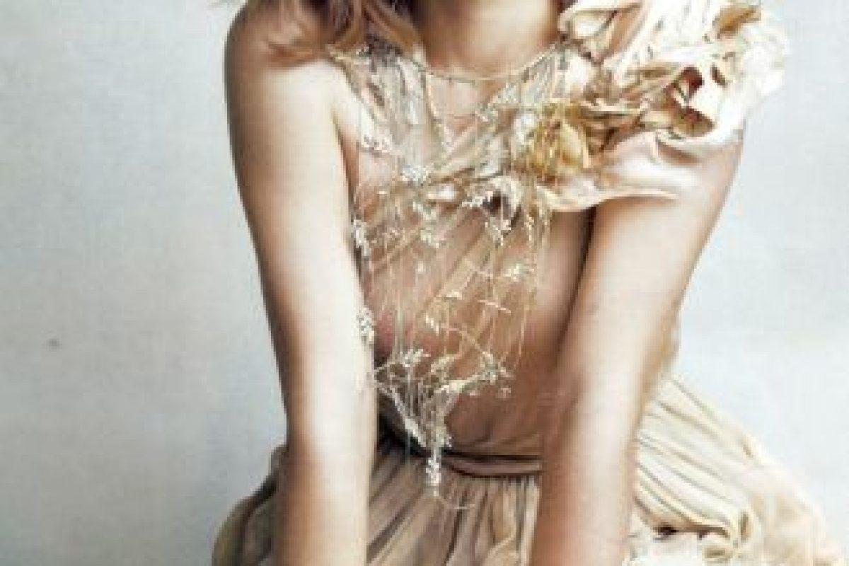 También es asidua imagen de editoriales y marcas de moda. Foto:vía Vanity Fair