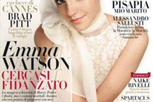 Emma Watson comenzó a consolidarse como símbolo sexual apenas salieron las últimas películas de Harry Potter. Foto:vía Vanity Fair