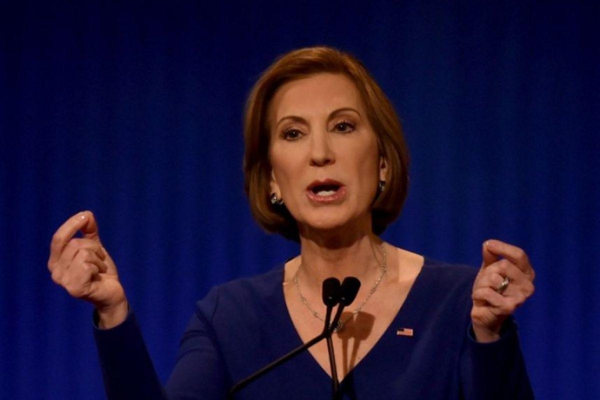 Cara Carleton Fiorina es una política estadounidense, ex ejecutiva de negocios. Foto:AFP