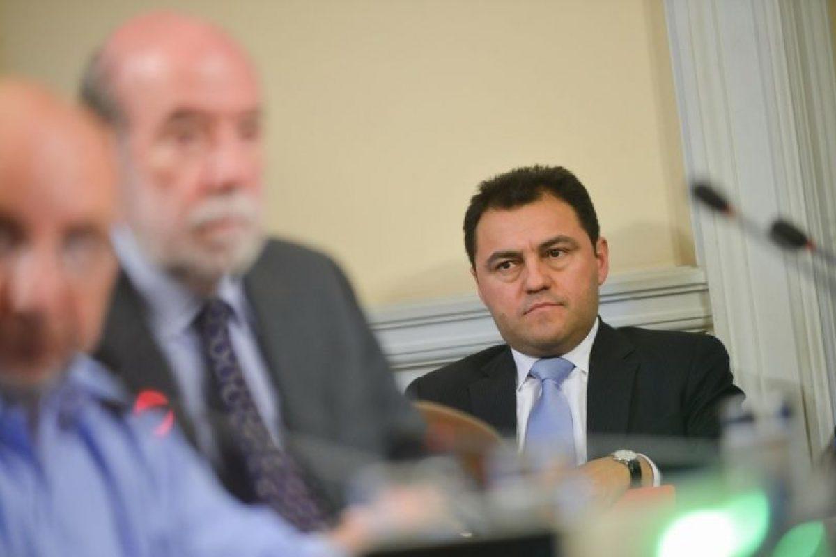 El administrador de La Moneda, Cristián Riquelme Foto:Agencia UNO
