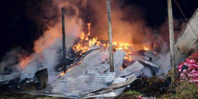 Vilcún: encapuchados atacaron a carabineros en fundo de la familia Luchsinger