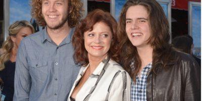 Hijo de Susan Sarandon acude vestido de mujer a la premiere de