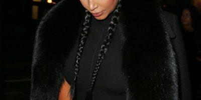 Esta fue la primera aparición pública de Kim Kardashian tras dar a luz