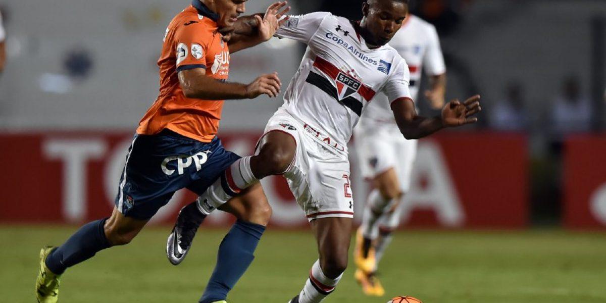 Sao Paulo con Eugenio Mena presente logró ajustada clasificación en la Libertadores