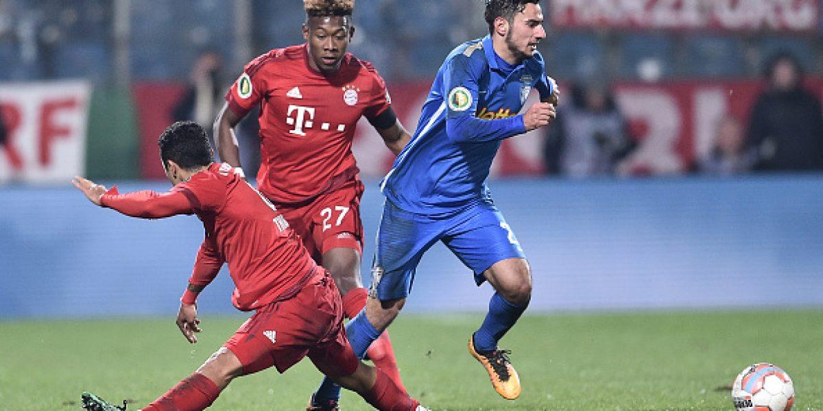 Arturo Vidal sumó minutos en cómoda victoria del Bayern en la Copa Alemania