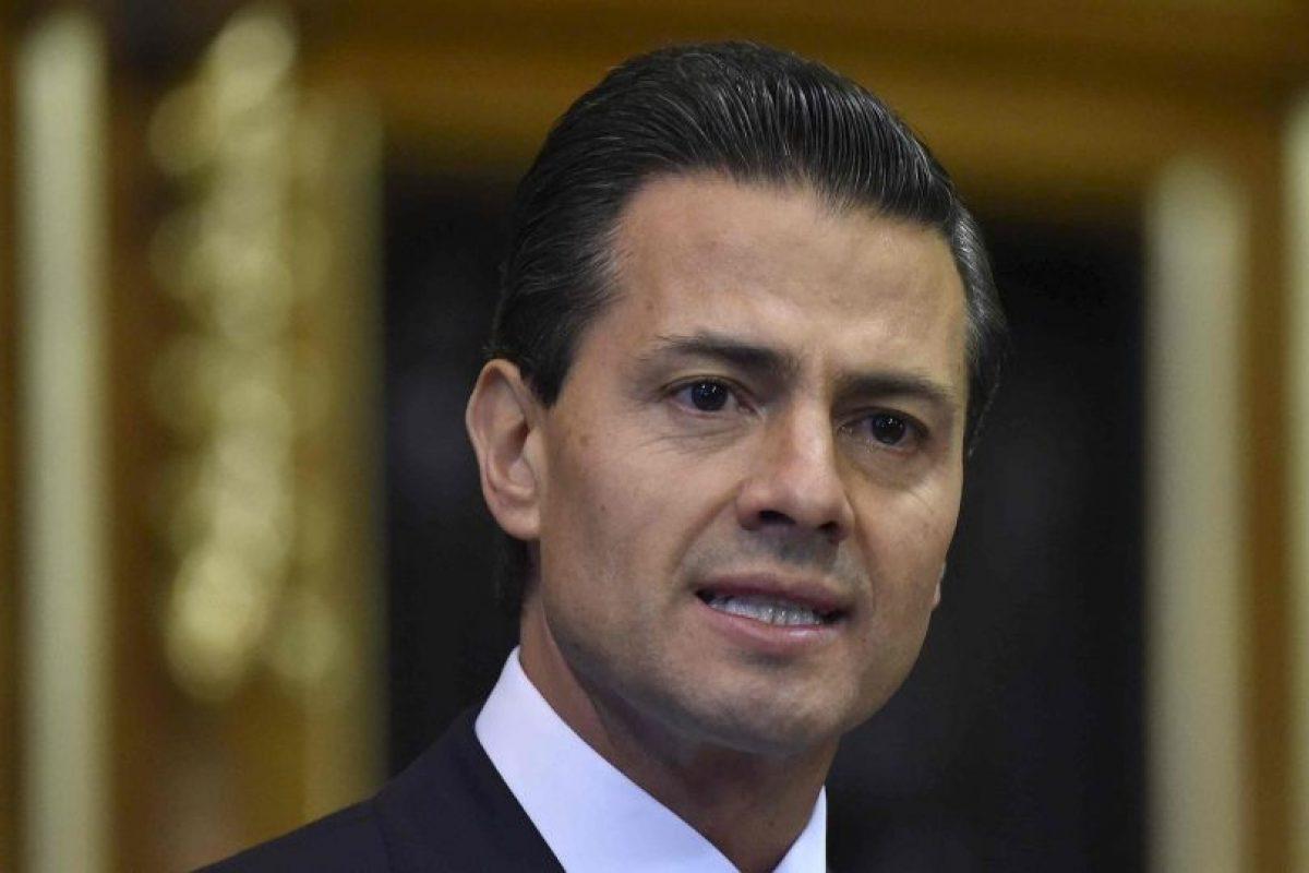 El presidente Enrique Peña Nieto lo va a recibir acompañado de su familia Foto:Getty Images