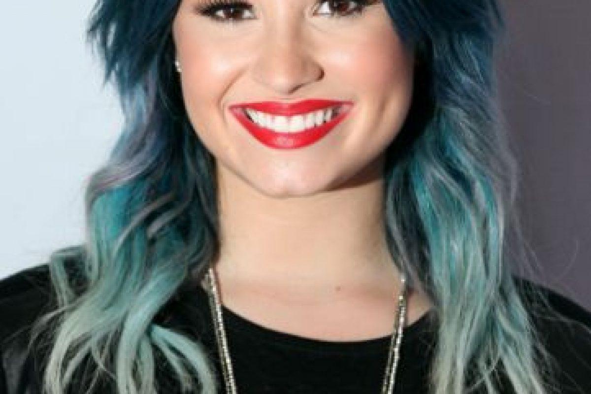 Demi Lovato tuvo desórdenes alimenticios y fue drogadicta y alcohólica. Sus familiares le ayudaron en su recuperación. Foto:vía Getty Images