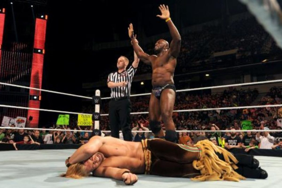 ¿Quién es Titus O'Neil? Foto:WWE. Imagen Por: