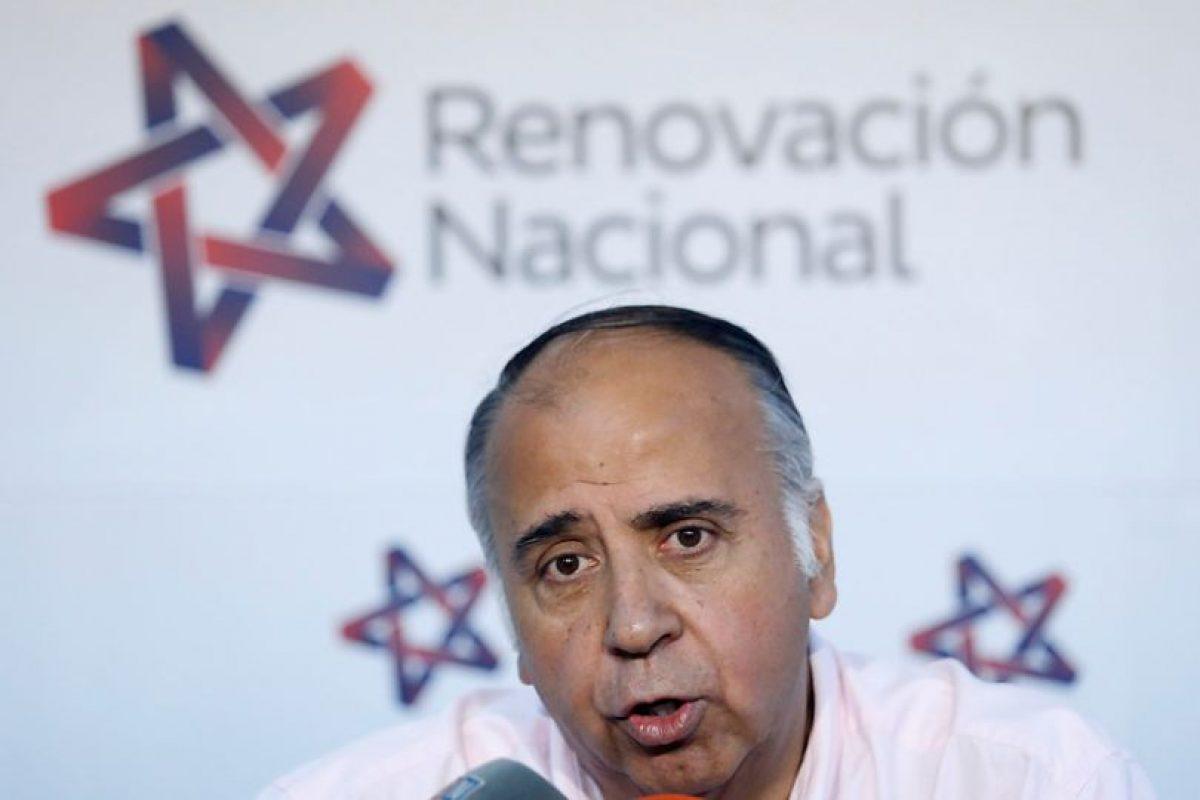 El diputado RN Leopoldo Pérez. Foto:Agencia Uno. Imagen Por: