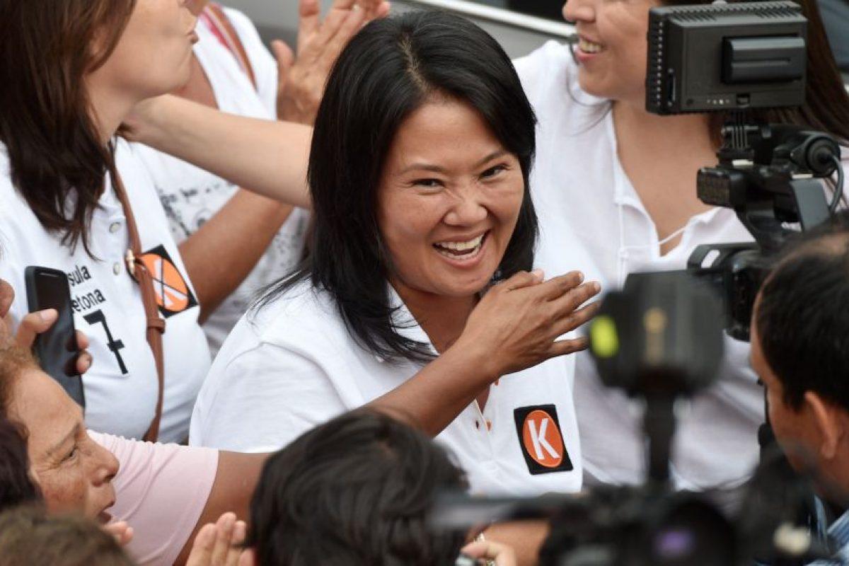 Keiko Fujimori Foto:AFP. Imagen Por: