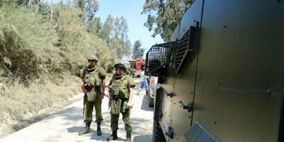 Encapuchados y Carabineros se enfrentan a tiros a horas de visita de Burgos al Biobío