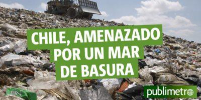 Infografía: Chile, amenazado por un mar de basura