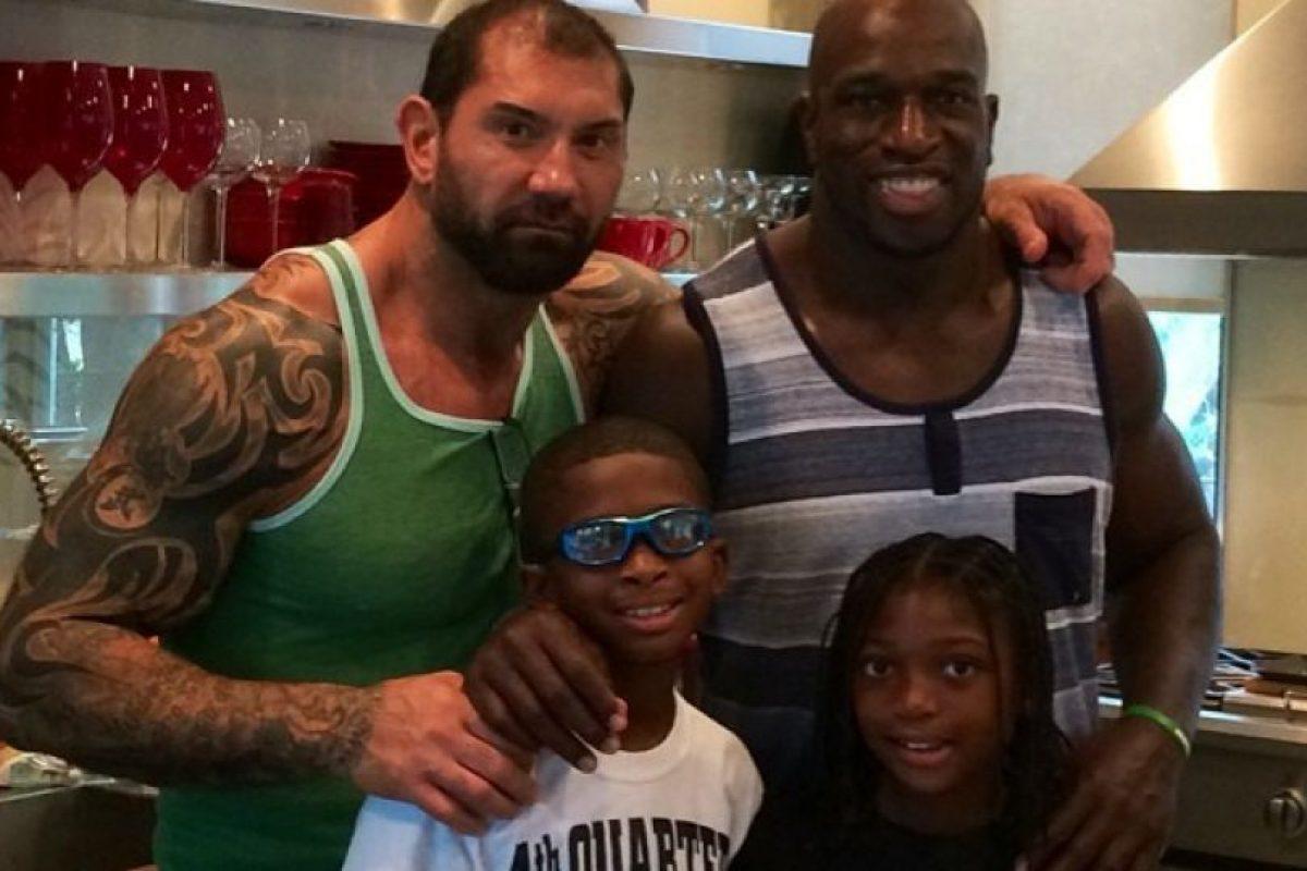 Es amigo de Batista Foto:WWE. Imagen Por: