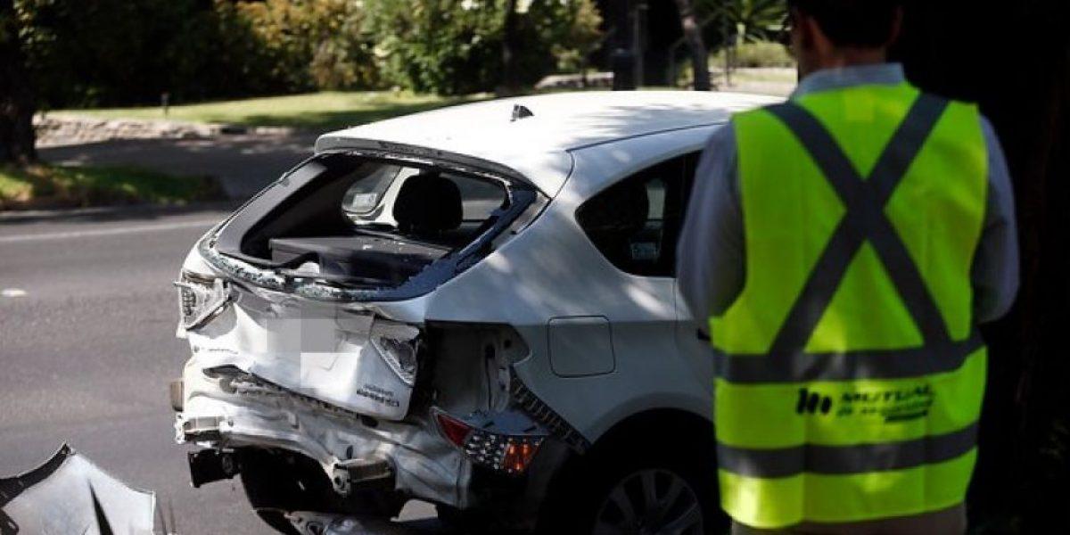 Lo Espejo: conductor bajó de su auto sin chaleco reflectante y murió atropellado