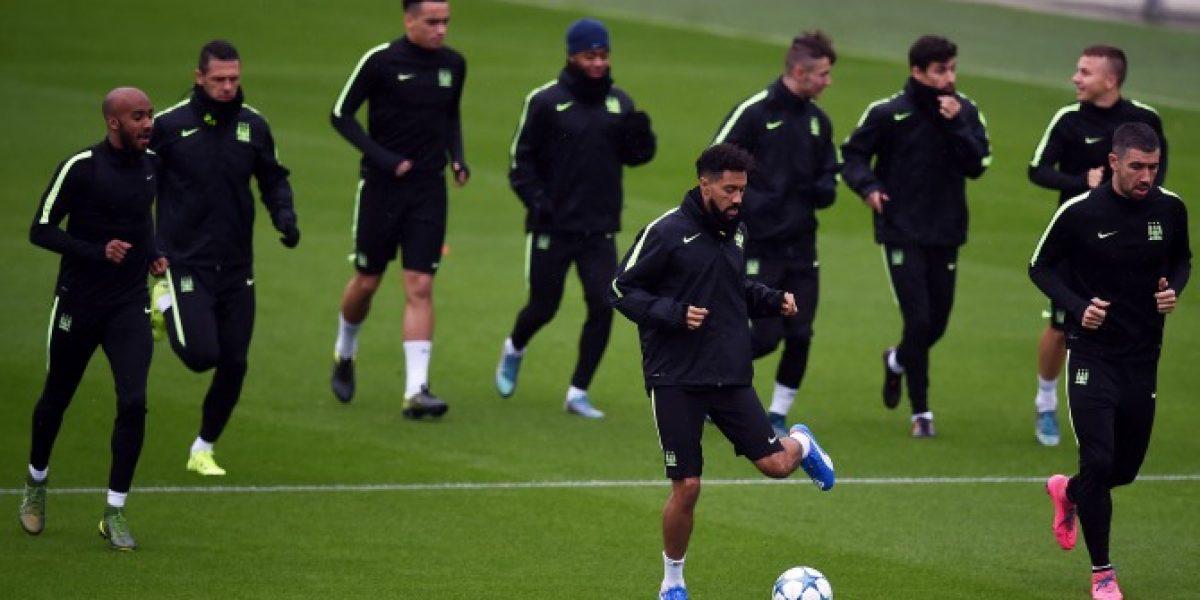 Con Pellegrini de espectador VIP: revisa el golazo de Clichy en el entrenamiento del City