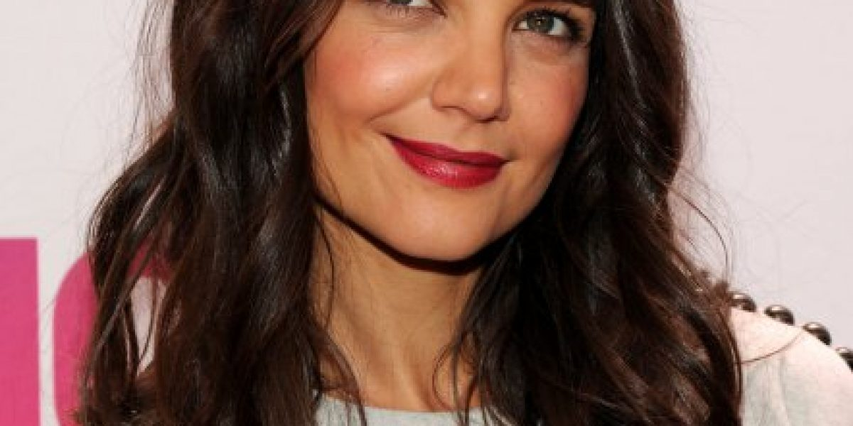 Sin maquillaje: Así luce Katie Holmes al natural