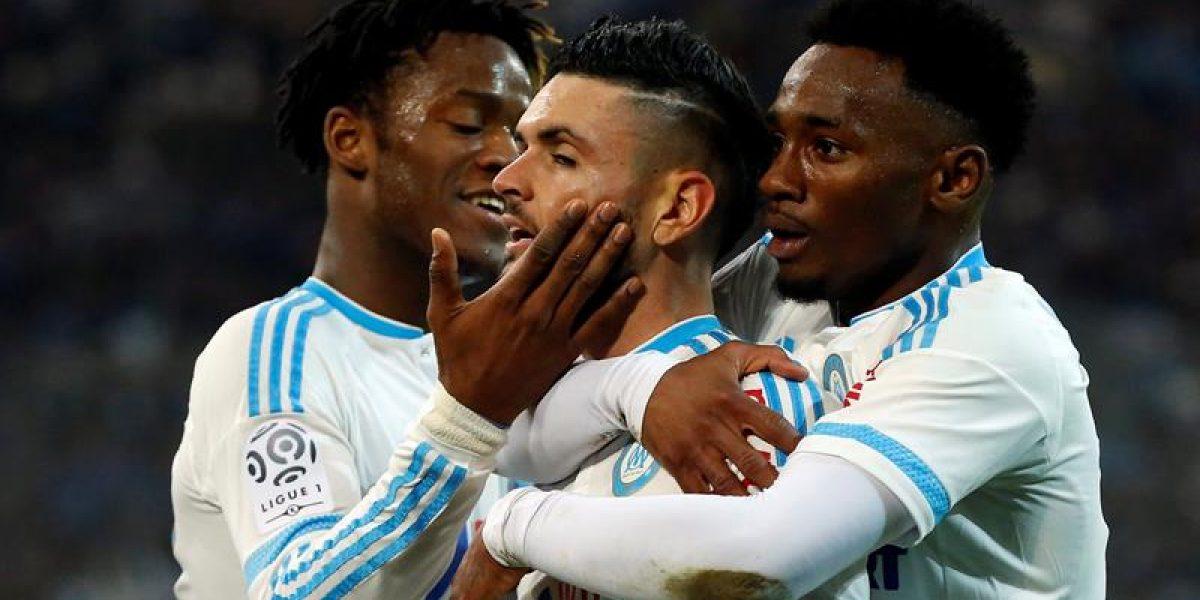 Marsella e Isla clasificaron a los cuartos de final de la Copa de Francia